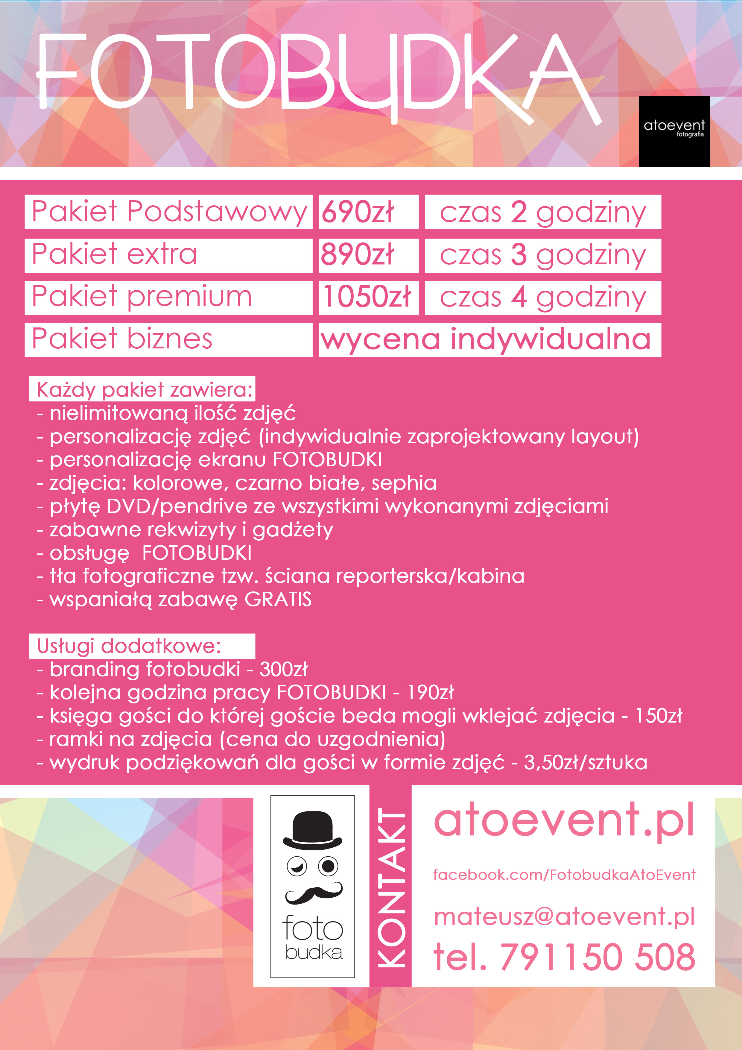 Fotobudka oferta atoevent.pl